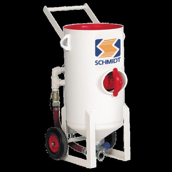 schmidt 3.5 cuft blast pot machine equipment for sale hire