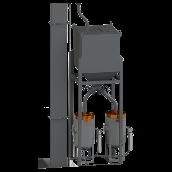 6 Ton Abrasive Storage Hopper