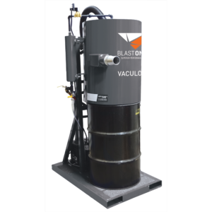 VAVacuload1 abrasive recovery system skid mount