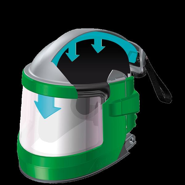 blast helmet respirator breathing hood nova3