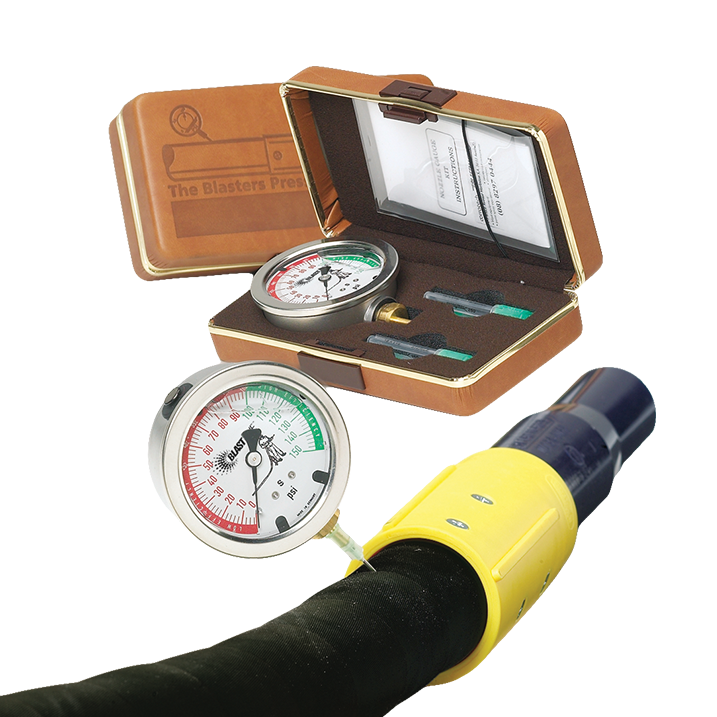 blast hose pressur test kit gauge