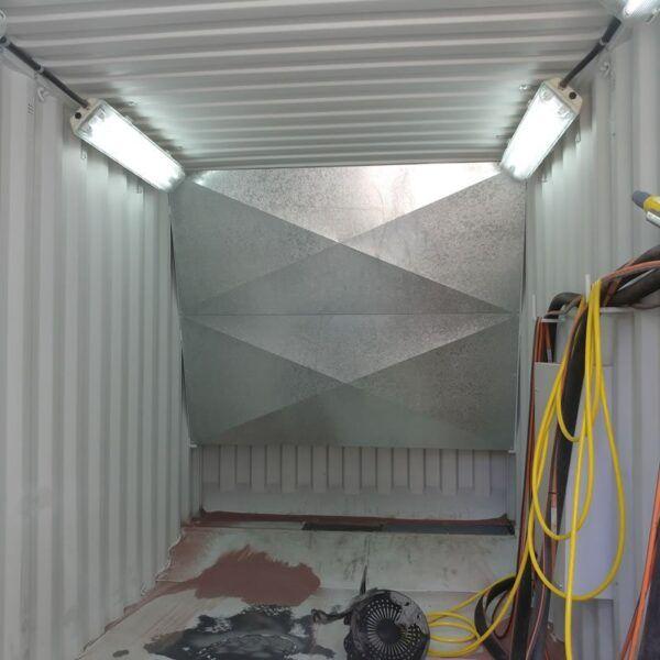 blast container