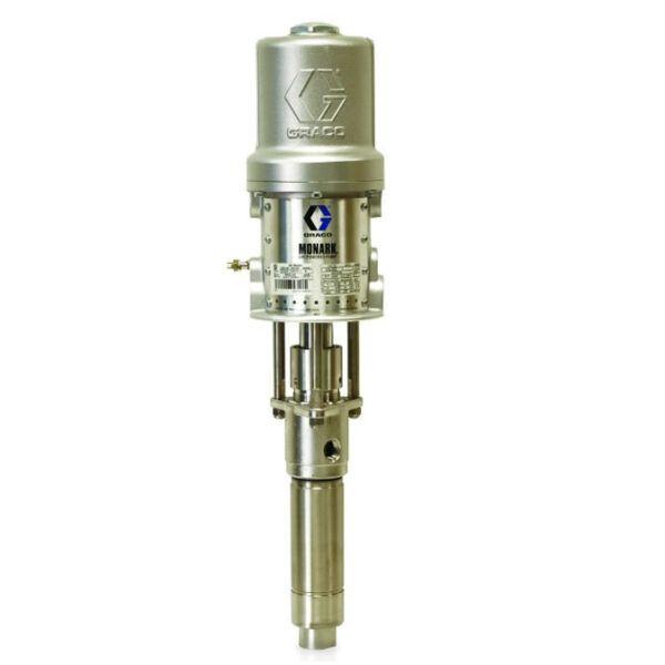 monark graco 5 to 1 feed pump spray paint equipment