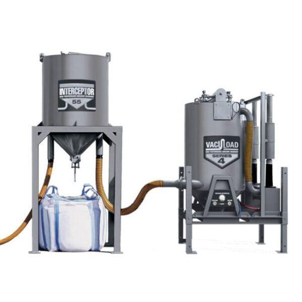 vavacuload iv skid mounted abrasive blasting recovery vacuum system