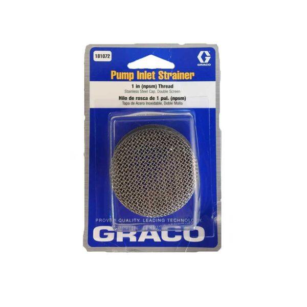 GR181072 Inlet Strainer 1'' thread SST