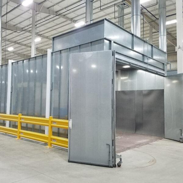 Pre-Engineered Economy Blast Booth