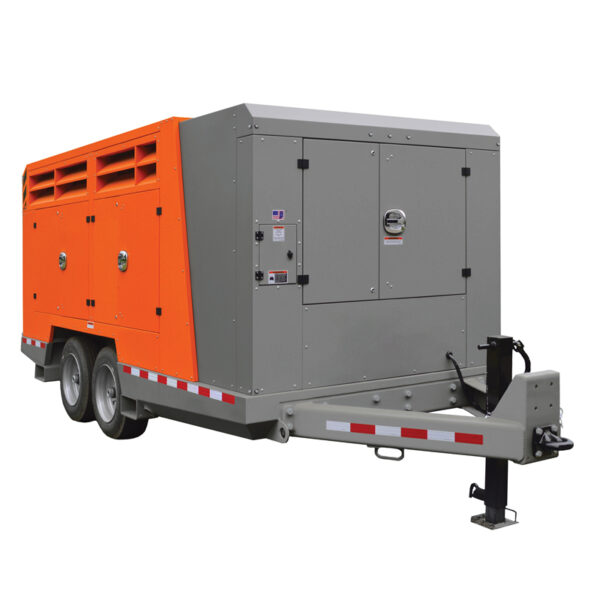 750 900 cfm air compressor for hire
