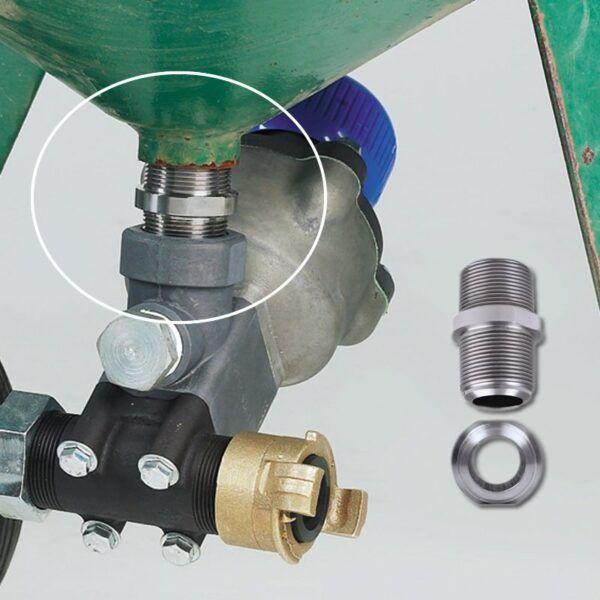 pot mounting longlife connector gv212500012 nipple