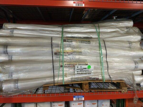 used blast clad sheeting