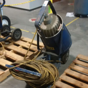 used electric light cart
