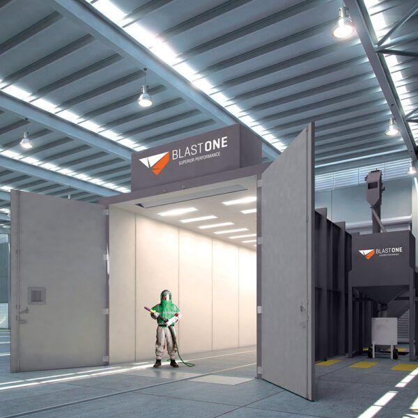 SBMGS General Purpose Blast Room custom engineered