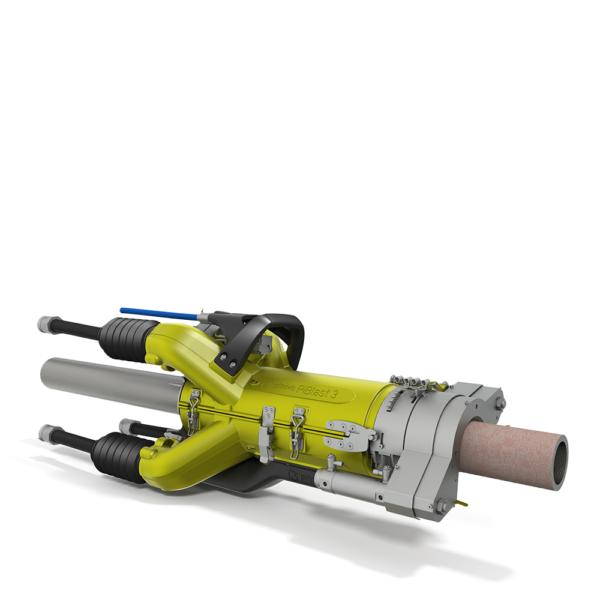 VCBV300 Pinovo PiBlast Automated Pipe Vacuum Blasting