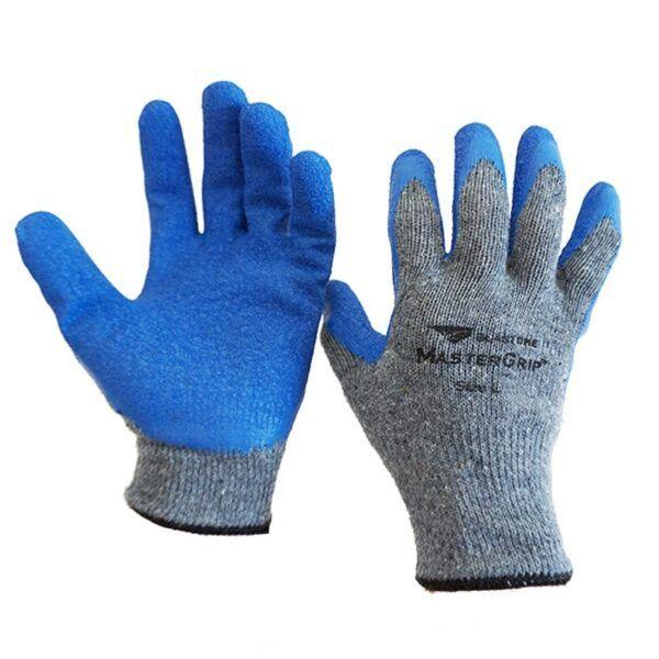 MasterGrip Cotton Glove Blue Latex