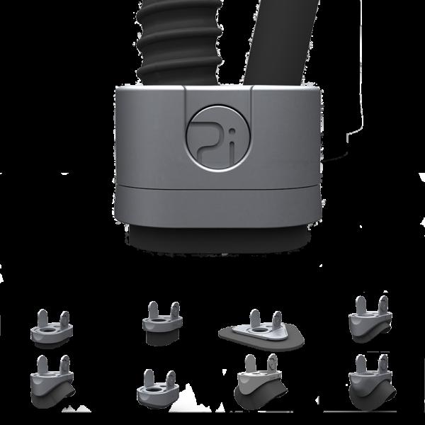 mini blast vacuum workhead VCBV700 Pinovo PiPoint Tool with adapters