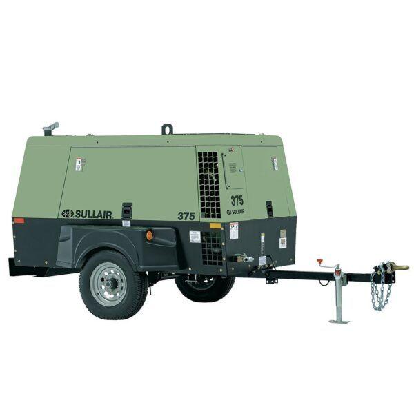 sullair air compressor portable CO375TM150D