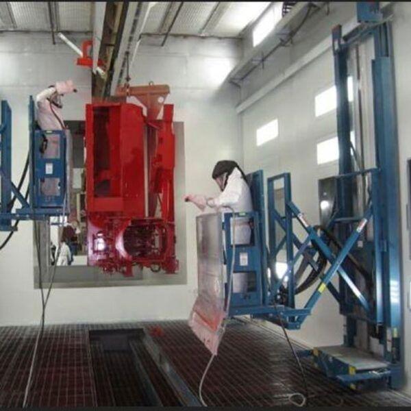 wall mounted hydraulic SBPL02 LPI Paint lift